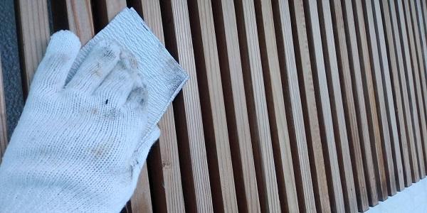 群馬県渋川市 S様邸 外壁塗装・付帯部塗装 軒天塗装 木部塗装 (4)
