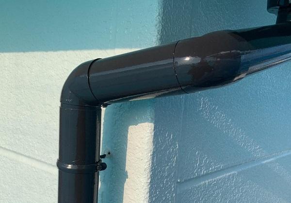 群馬県前橋市 K様邸 屋根塗装・外壁塗装・付帯部塗装・防水工事 破風塗装 雨樋塗装3 (3)