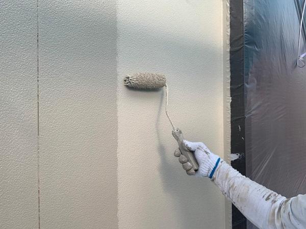 群馬県渋川市 S様邸 外壁塗装・付帯部塗装 ガイソーウォール無機ACE GWフィーラー微弾性 (4)