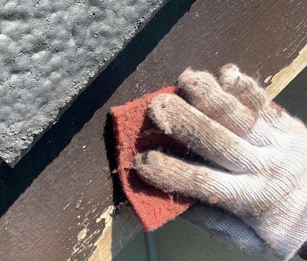 群馬県前橋市 K様邸 屋根塗装・外壁塗装・付帯部塗装・防水工事 破風塗装 雨樋塗装 (2)