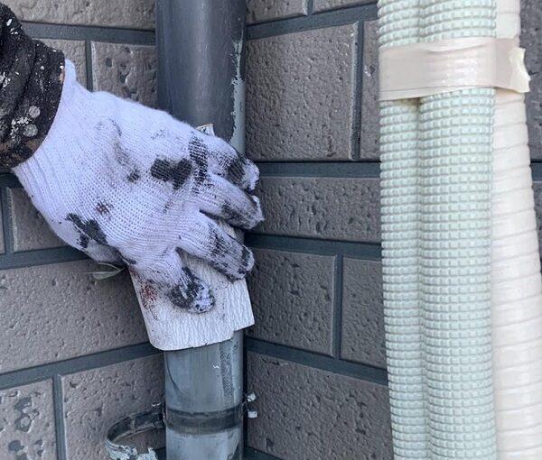 群馬県伊勢崎市 W様邸 屋根塗装・外壁塗装・付帯部塗装 雨樋塗装 軒樋 縦樋 (8)