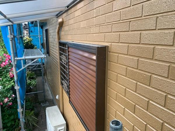 群馬県桐生市 I様邸 屋根塗装・外壁塗装 雨戸 吹き付け工法 (1)