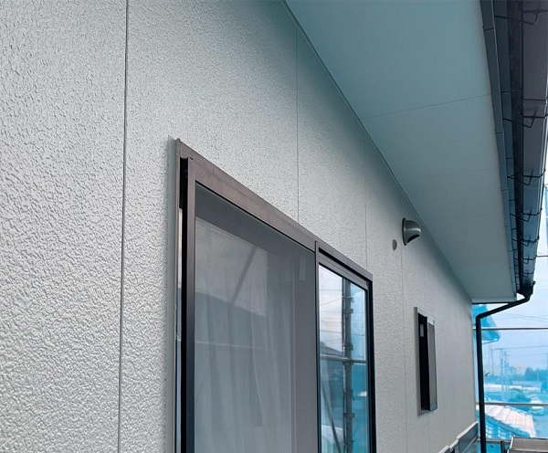 群馬県伊勢崎市 W様邸 屋根塗装・外壁塗装・付帯部塗装 ガイソーウォール無機ACE カチオンシーラーNEO (6)