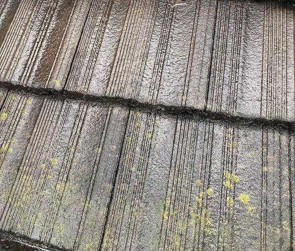 群馬県伊勢崎市 W様邸 屋根塗装・外壁塗装・付帯部塗装 施工前の状態 塀 (1)