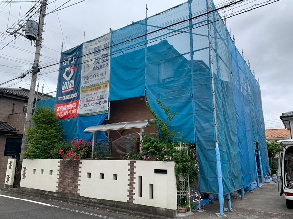 群馬県桐生市 I様邸 屋根塗装・外壁塗装・付帯部塗装