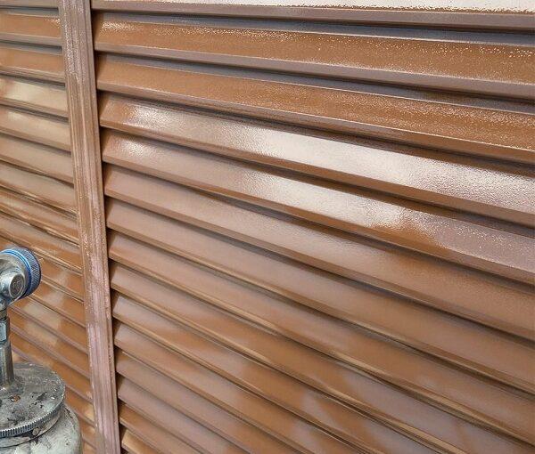 群馬県桐生市 I様邸 屋根塗装・外壁塗装 雨戸 吹き付け工法 (3)