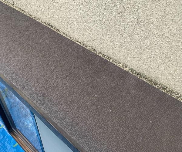 群馬県前橋市 N様邸 外壁塗装・防水工事 軒天塗装 庇塗装 (4)