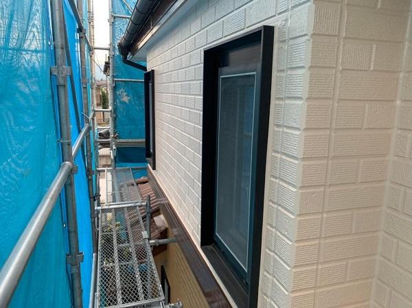 群馬県桐生市 I様邸 屋根塗装・外壁塗装 ガイソーウォールマイティシリコン カチオンシーラー (3)