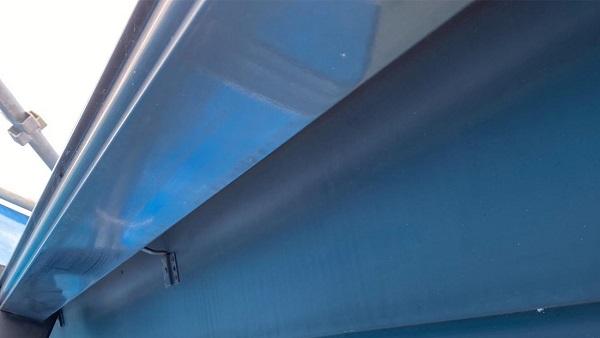 群馬県前橋市 N様邸 外壁塗装・防水工事 雨樋塗装 破風塗装 (7)