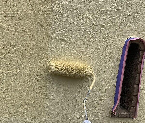 群馬県伊勢崎市 W様邸 屋根塗装・外壁塗装・付帯部塗装 塀塗装 ひび割れ(クラック)補修 (3)