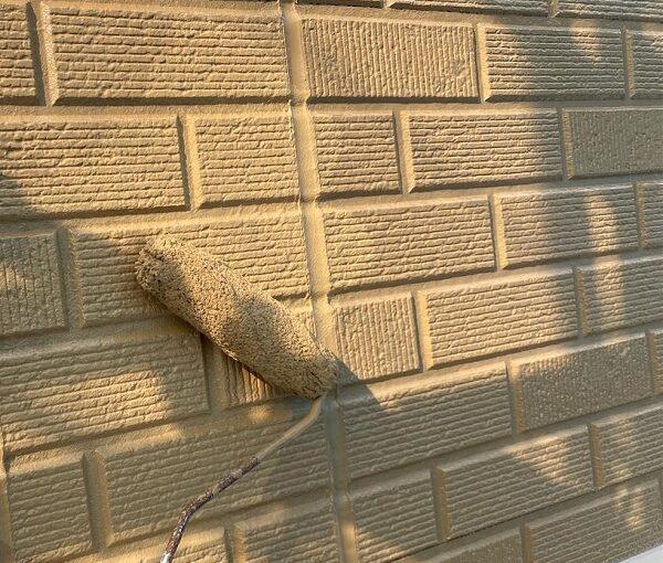 群馬県桐生市 I様邸 屋根塗装・外壁塗装 ガイソーウォールマイティシリコン カチオンシーラー (5)