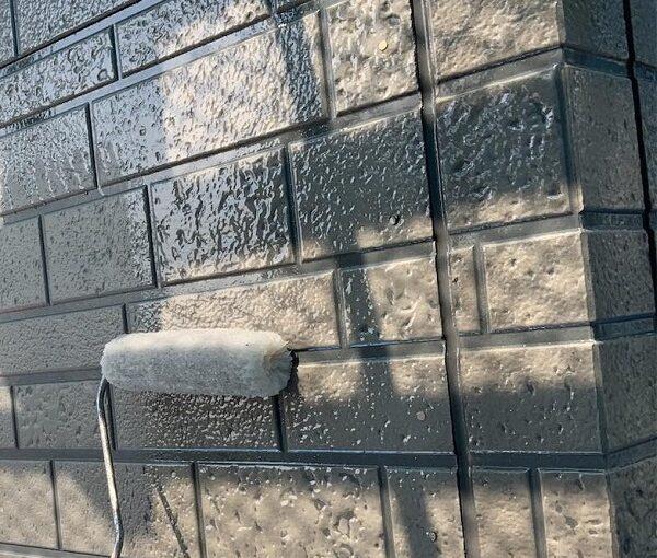 群馬県伊勢崎市 W様邸 屋根塗装・外壁塗装・付帯部塗装 ガイソーウォール無機アンダーコート ガイソーウォール無機Z CLEAR (4)