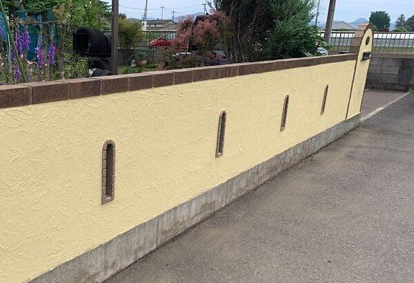 群馬県伊勢崎市 W様邸 屋根塗装・外壁塗装・付帯部塗装 塀塗装 ひび割れ(クラック)補修 (4)