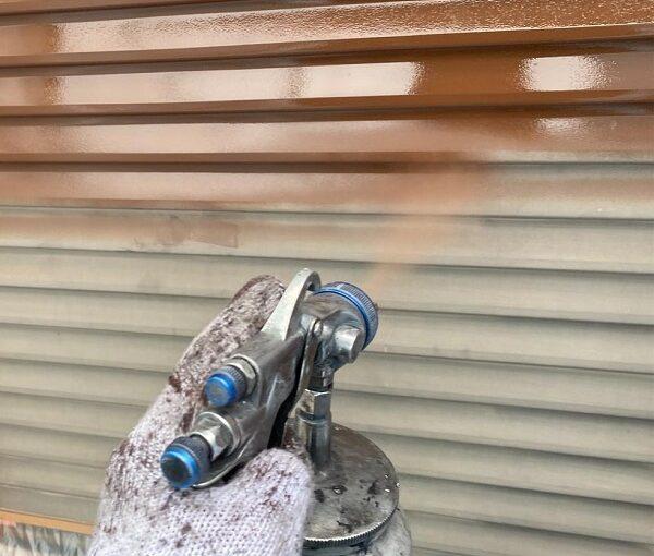 群馬県桐生市 I様邸 屋根塗装・外壁塗装 雨戸 吹き付け工法 (4)