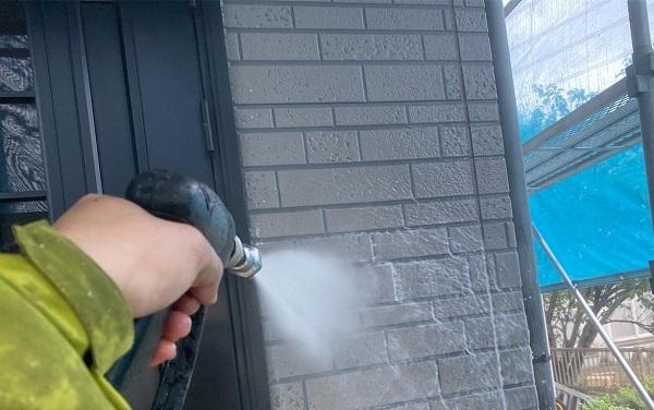 群馬県伊勢崎市 W様邸 屋根塗装・外壁塗装・付帯部塗装 下地処理の重要性 バイオ洗浄 (2)