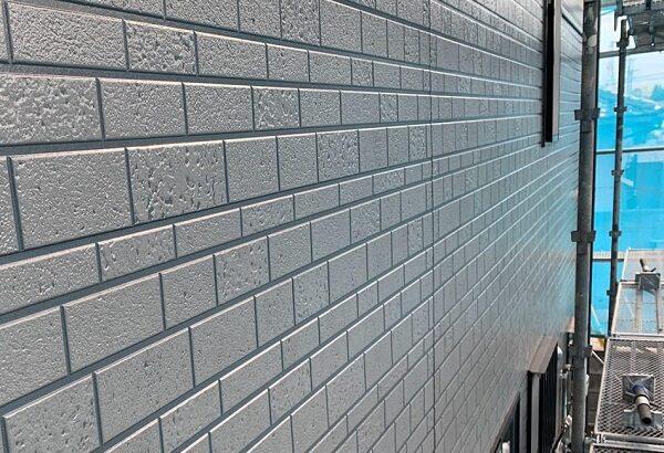 群馬県伊勢崎市 W様邸 屋根塗装・外壁塗装・付帯部塗装 ガイソーウォール無機アンダーコート ガイソーウォール無機Z CLEAR (3)