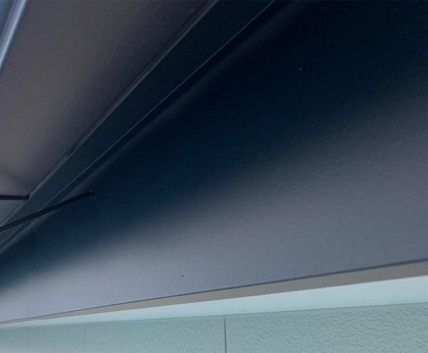 群馬県伊勢崎市 W様邸 屋根塗装・外壁塗装・付帯部塗装 破風、幕板塗装 (2)