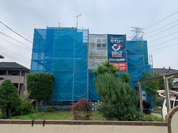 群馬県伊勢崎市 W様邸 屋根塗装・外壁塗装・付帯部塗装