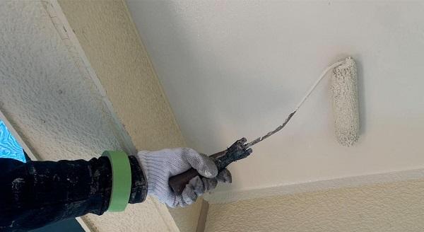 群馬県伊勢崎市 W様邸 屋根塗装・外壁塗装・付帯部塗装 軒天塗装 低臭ジョンキングNAD (3)