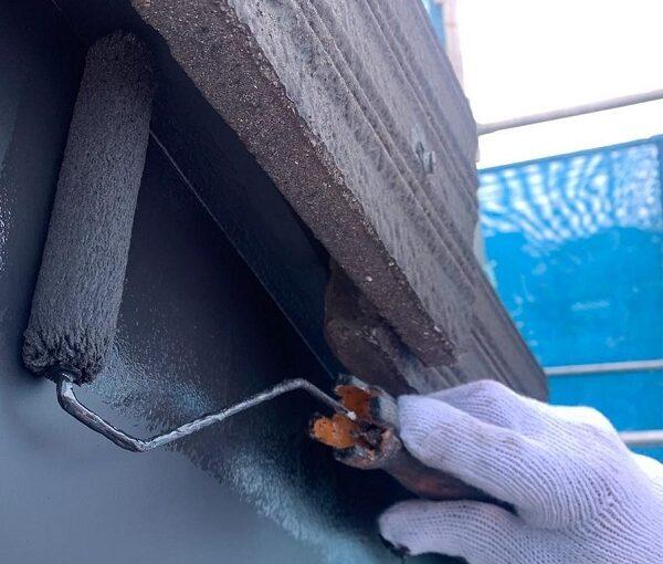 群馬県伊勢崎市 W様邸 屋根塗装・外壁塗装・付帯部塗装 破風、幕板塗装 (1)