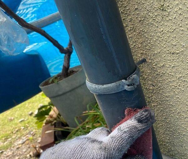 群馬県前橋市 N様邸 外壁塗装・防水工事 雨樋塗装 破風塗装 (12)