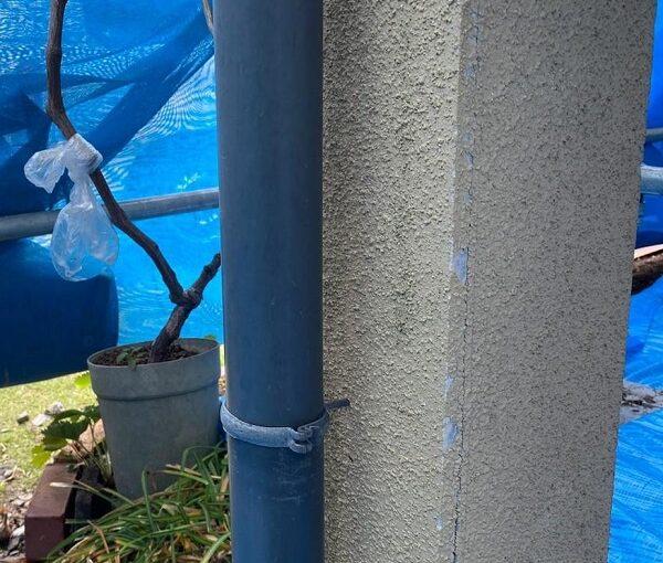 群馬県前橋市 N様邸 外壁塗装・防水工事 雨樋塗装 破風塗装 (11)