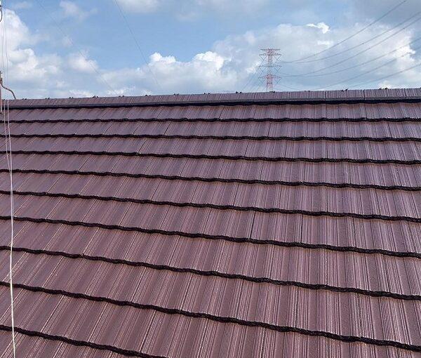群馬県伊勢崎市 W様邸 屋根塗装・外壁塗装・付帯部塗装 ガイソールーフガード無機 シーラーストロング (1)