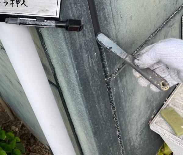 群馬県北群馬郡吉岡町 T様邸 屋根塗装・外壁塗装 シーリング増し打ち工事 オートンイクシード (3)