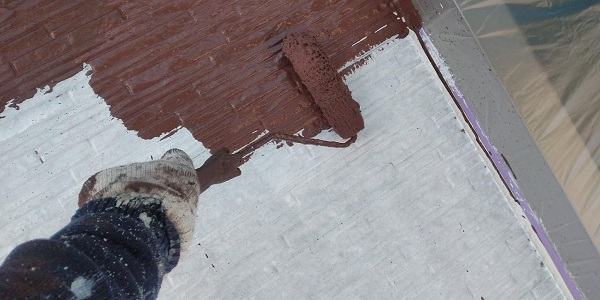 群馬県前橋市 H様邸 外壁塗装・付帯部塗装 色決め ガイソーウォール無機ACE カチオンシーラーNEO (1)