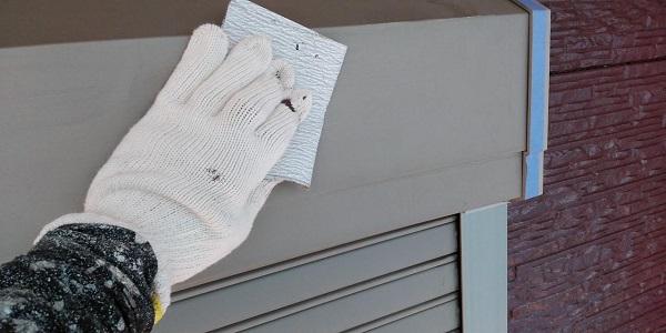 群馬県前橋市 H様邸 外壁塗装・付帯部塗装 シャッターボックス、土台水切り塗装 完工 (3)