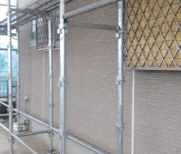 群馬県前橋市 H様邸 外壁塗装・付帯部塗装 仮設足場 単管足場、クサビ足場とは (4)