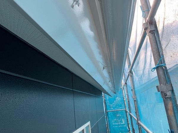 群馬県北群馬郡吉岡町 T様邸 屋根塗装・外壁塗装 雨樋・鼻隠しの塗装 完工 (2)