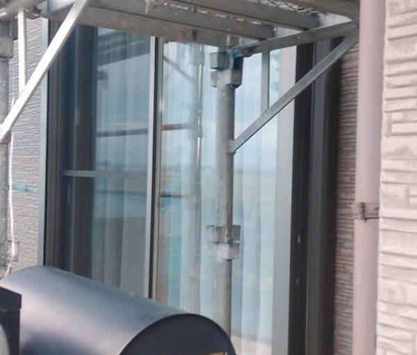 群馬県前橋市 H様邸 外壁塗装・付帯部塗装 仮設足場 単管足場、クサビ足場とは (2)