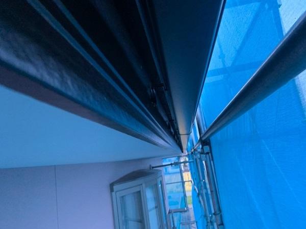 群馬県前橋市 H様邸 外壁塗装・付帯部塗装 鼻隠し、雨樋、エアコンカバー塗装 (2)
