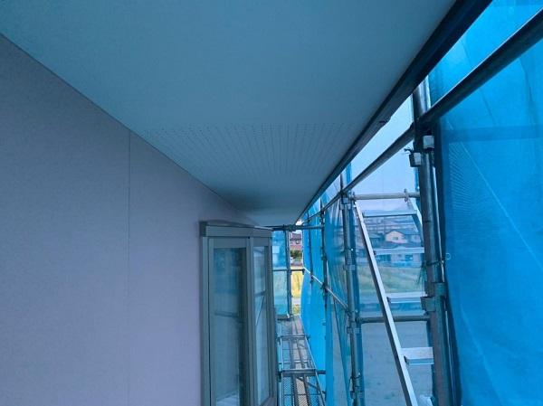群馬県前橋市 H様邸 外壁塗装・付帯部塗装 軒天塗装 低臭ジョンキングNAD (2)