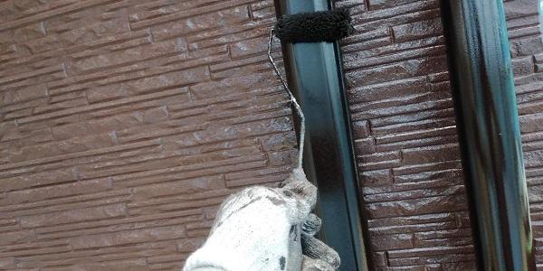 群馬県前橋市 H様邸 外壁塗装・付帯部塗装 鼻隠し、雨樋、エアコンカバー塗装 (3)