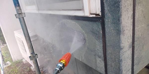 群馬県北群馬郡吉岡町 T様邸 屋根塗装・外壁塗装 下地処理 高圧洗浄 (2)