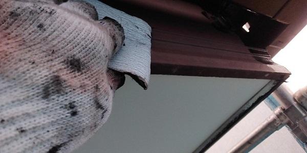 群馬県前橋市 H様邸 外壁塗装・付帯部塗装 鼻隠し、雨樋、エアコンカバー塗装 (11)