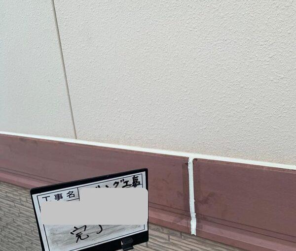 群馬県前橋市 H様邸 外壁塗装・付帯部塗装 シーリング打ち替え工事 (1)