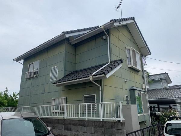 群馬県北群馬郡吉岡町 T様邸 屋根塗装・外壁塗装・付帯部塗装 (4)