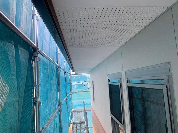 群馬県前橋市 H様邸 外壁塗装・付帯部塗装 軒天塗装 低臭ジョンキングNAD (5)
