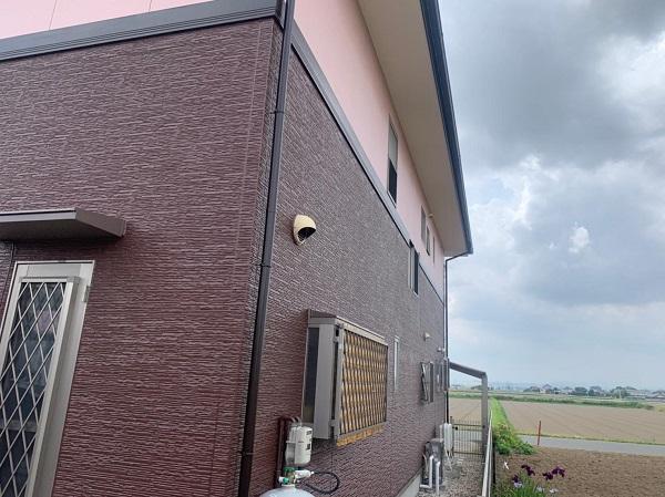 群馬県前橋市 H様邸 外壁塗装・付帯部塗装・アルミサッシ面格子取り付け (11)