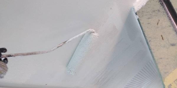 群馬県北群馬郡吉岡町 T様邸 屋根塗装・外壁塗装 軒天塗装 (4)