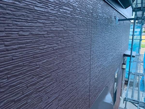 群馬県前橋市 H様邸 外壁塗装・付帯部塗装 ガイソーウォール無機ACE 中塗り 上塗り (3)