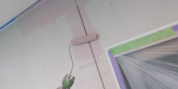 群馬県前橋市 H様邸 外壁塗装・付帯部塗装 ガイソーウォール無機ACE 中塗り 上塗り (5)