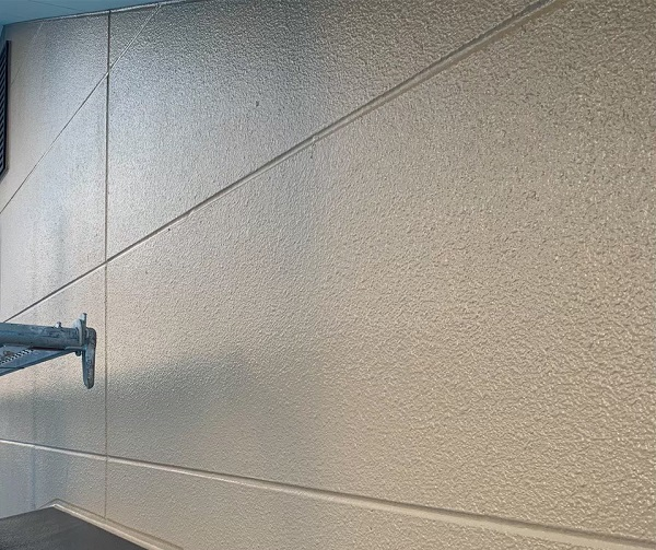 群馬県前橋市 K様邸 外壁塗装・防水工事 外壁中塗り・上塗り (2)
