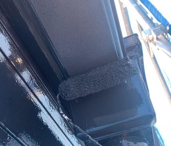 群馬県前橋市 K様邸 外壁塗装・防水工事 雨樋の塗装 竪樋・軒樋とは (4)