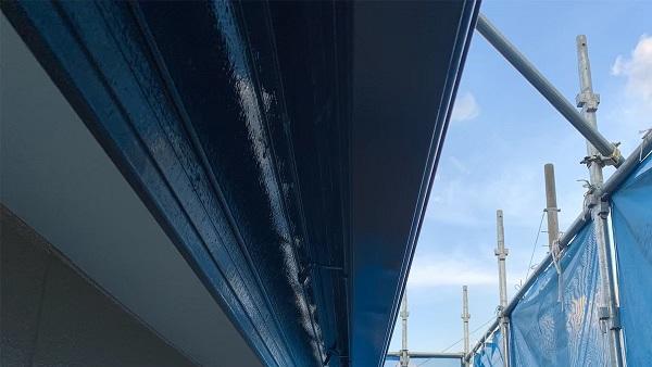 群馬県前橋市 K様邸 外壁塗装・防水工事 雨樋の塗装 竪樋・軒樋とは (2)