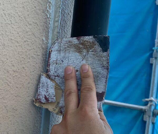 群馬県前橋市 K様邸 外壁塗装・防水工事 雨樋の塗装 竪樋・軒樋とは (8)