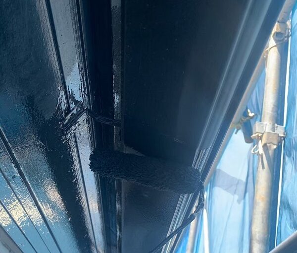 群馬県前橋市 K様邸 外壁塗装・防水工事 雨樋の塗装 竪樋・軒樋とは (5)
